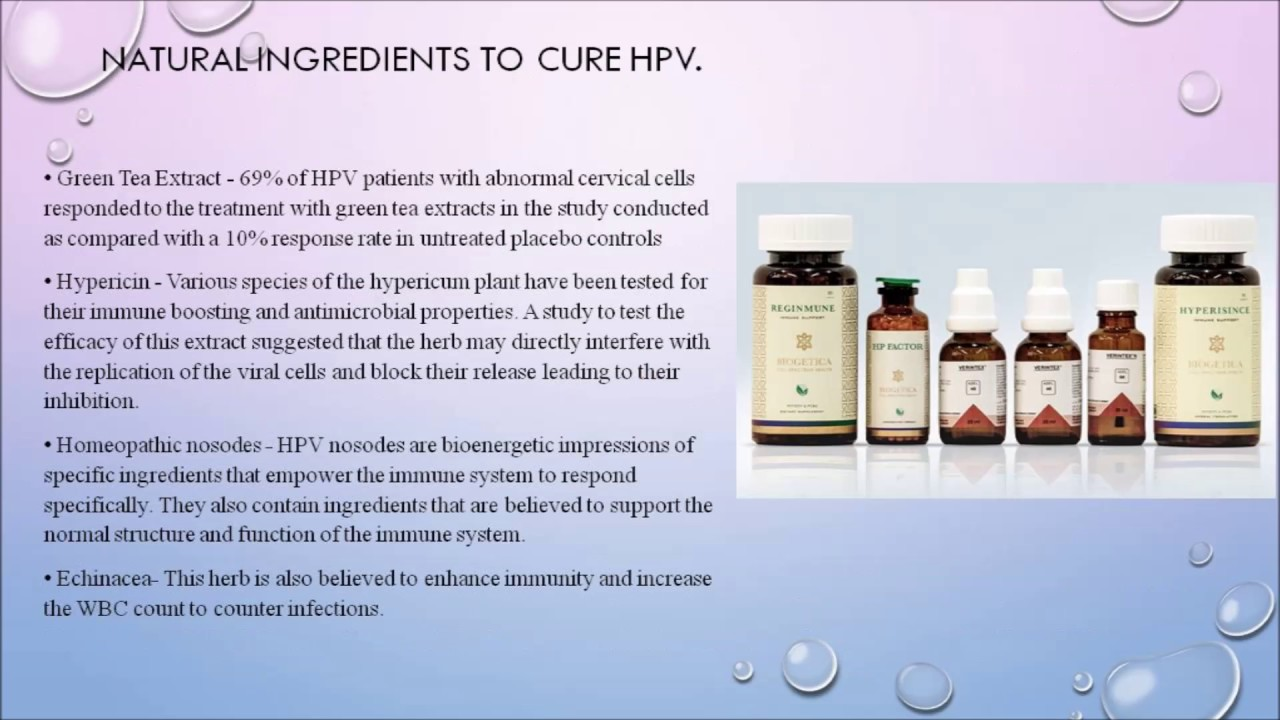 hpv cure herbs