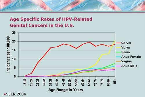 hpv cancer rates)