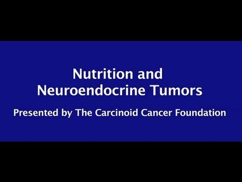neuroendocrine cancer nutrition