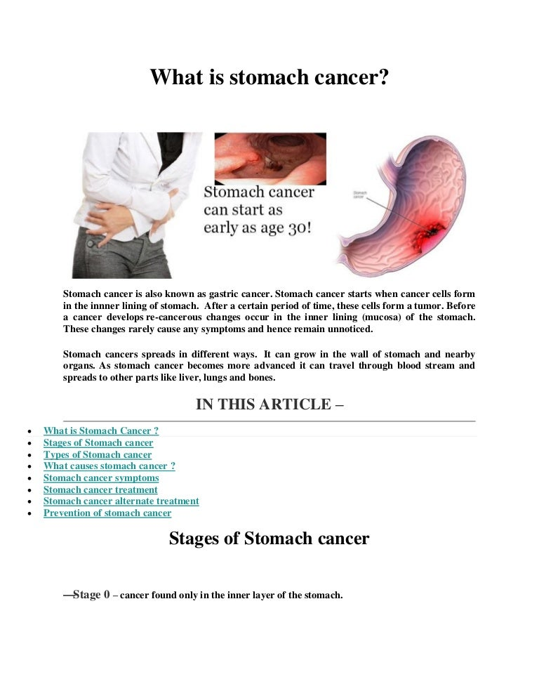 abdominal cancer period