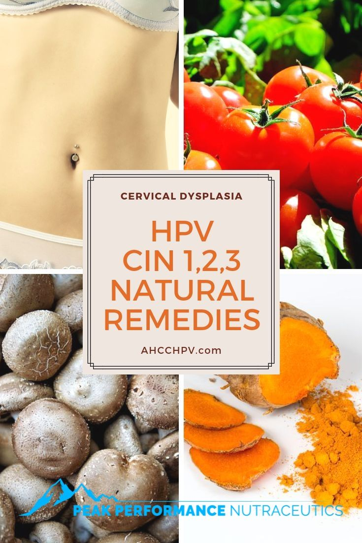 How to treat human papillomavirus naturally Curing HPV hpv causa tumore