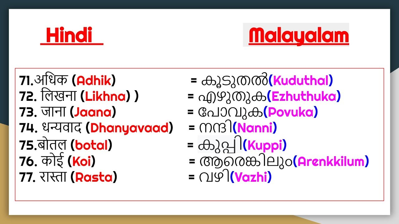 papilloma meaning in malayalam)